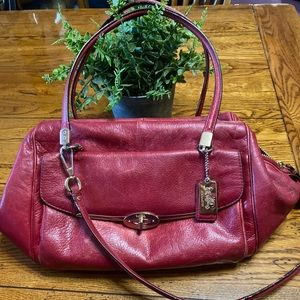 COACH MADISON MADELINE SATCHEL IN LEATHER 25166